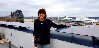 Sue at YHA